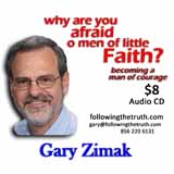 Gary Zimak Men Little Faith CD