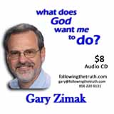 Gary Zimak What God Wants CD