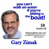 Gary Zimak Walk On Water CD