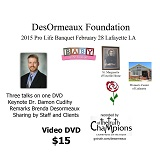 2015 Desormeaux Video DVD
