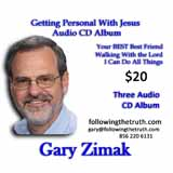 Gary Zimak 3 CD Album