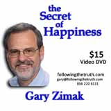 Gary Zimak Secret Happiness DVD