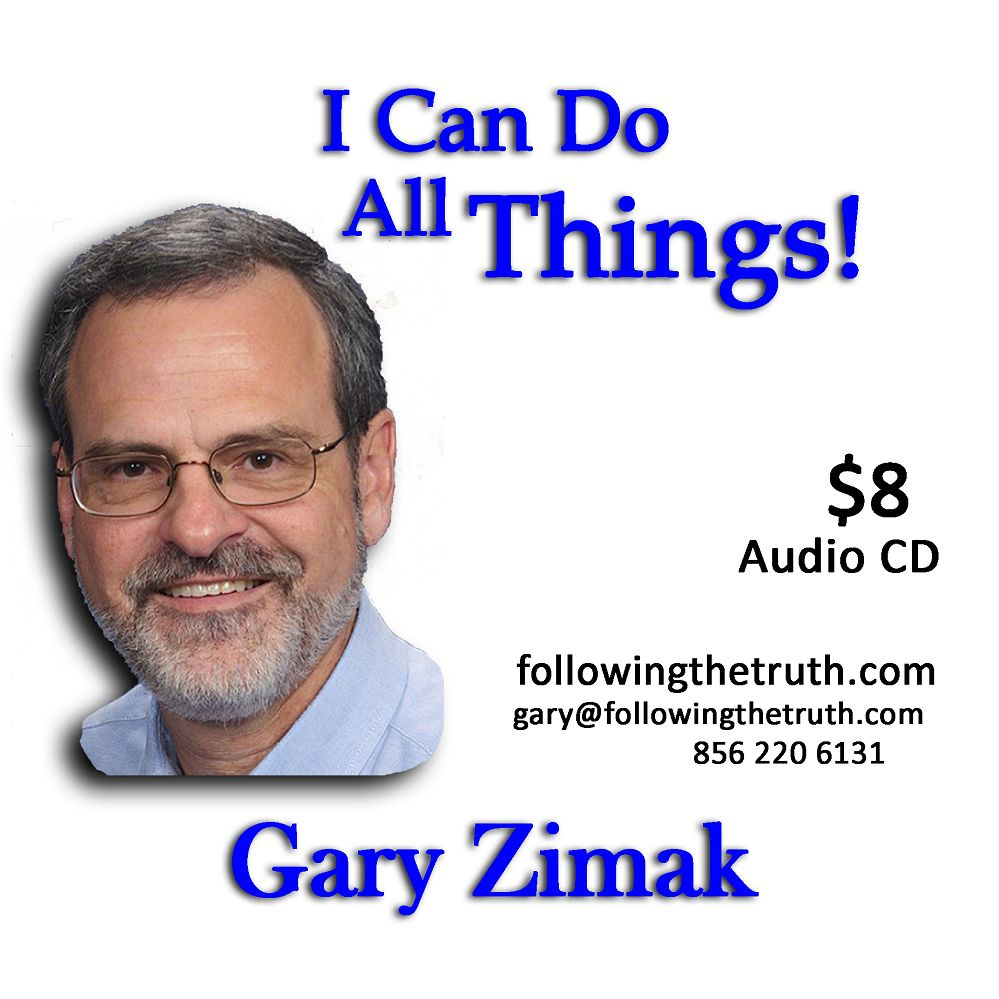 Gary Zimak Can Do All Things CD