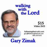 Gary Zimak Walk With Lord DVD
