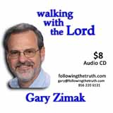 Gary Zimak Walking With Lord CD